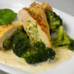 Kuřecí kapsa s brokolicí